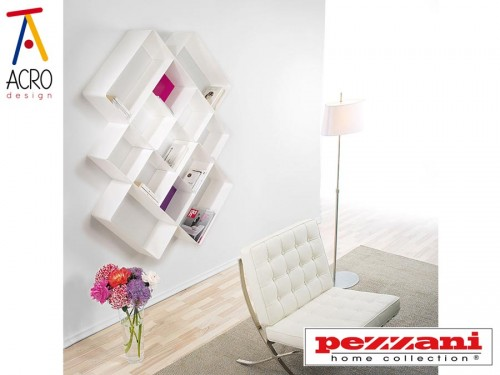 Arredo soggiorno pareti attrezzate pareti divisorie for Soggiorni moderni lissone
